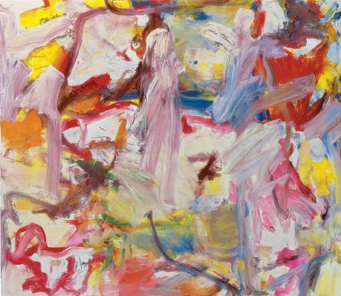 Willem de Kooning Untitled XVI 1975 oil on canvas...