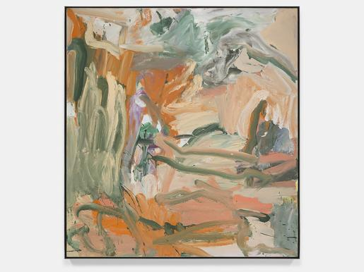 Willem de Kooning Untitled X 1977 oil on canvas&nb...