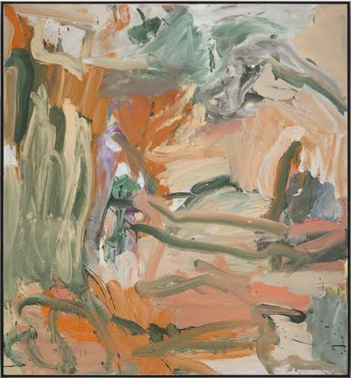 Willem de Kooning Untitled X 1977 oil on can...