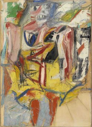 Willem de Kooning Woman 1953 oil, enamel paints, a...