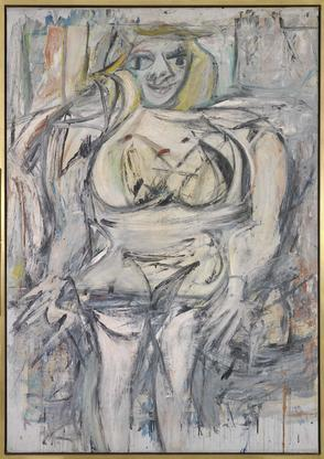 Willem de Kooning Woman III 1952-53 oil on canvas...