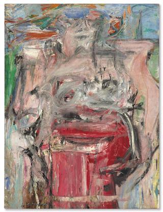 Willem de Kooning Woman as Landscape 1954-55 oil a...