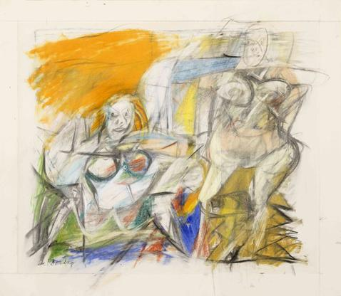 Willem de Kooning Woman Seated and Standing...