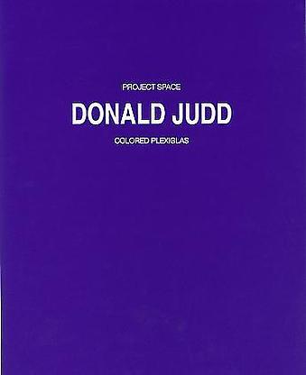 Donald Judd - Publications